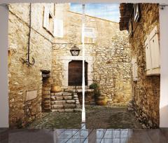 Eski Taş Evler Fon Perde Eski Taş Evler Kırsal