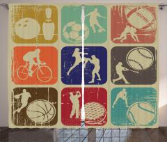 Eski Spor Logoları Fon Perde Nostaljik Logolar