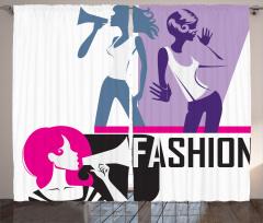 Moda Tutkusu Fon Perde Şık Tasarım Trend