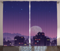 Ay Işığı Fon Perde Ay Işığı Romantik