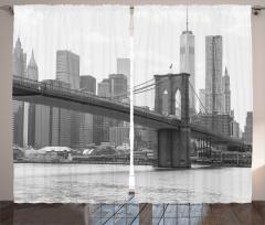 Nostaljik New York Fon Perde Nostaljik New York Manzarası ABD
