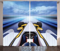 Hız Tutkunları için Fon Perde Yarış Arabası Temalı