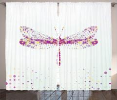 Modern Yusufçuk Desenli Fon Perde Şık Tasarım Modern Sanat