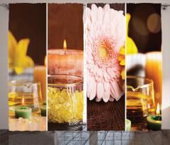 Aroma Terapi Fon Perde Aromatik Terapi Pembe Çiçek