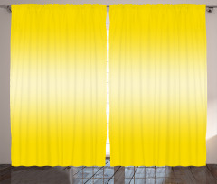 Sarı Şık Desenli Fon Perde Dekoratif Tasarım