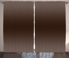 Kahverenginin Tonları Fon Perde Dekoratif Şık