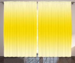 Sarının Tonları Desenli Fon Perde Dekoratif Şık