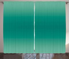 Yeşilin Tonları Fon Perde Dekoratif Şık Tasarım