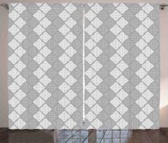 Duvar Kağıdı Temalı Fon Perde Gri Şık Tasarım