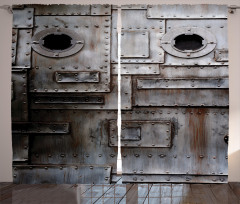 Yamalı Çelik Kapı Fon Perde Şık Tasarım
