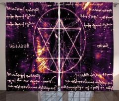 Pentagram ve İnsan Fon Perde Ezoterik