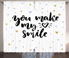 Kalbimi Gülümsetiyorsun Fon Perde Romantik Şık