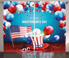ABD'nin Özgürlük Günü Fon Perde Dört Temmuz