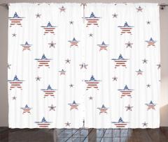 Eski Amerikan Bayrağı Fon Perde Şık