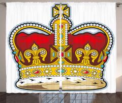 Hanedanlık Armaları Fon Perde Kral Tacı