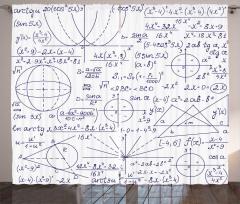 Matematik ve Geometri Fon Perde Trend