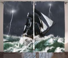 Dalgalardaki Yelkenli Fon Perde Deniz Gökyüzü