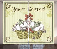 Yumurta Sepeti Desenli Fon Perde Dekoratif Şık