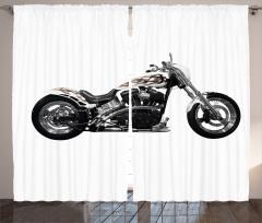 Macera Tutkunlarına Özel Fon Perde Motosiklet