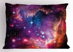 Samanyolu Galaksisi Yastık Kılıfı Kozmos Uzay