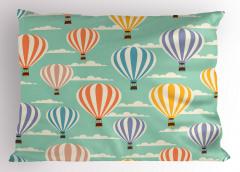 Balon Desenli Yastık Kılıfı Rengarenk Trend