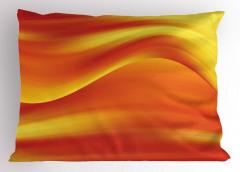 Işık Dalgası Desenli Yastık Kılıfı Modern Sanat Şık Tasarım Trend
