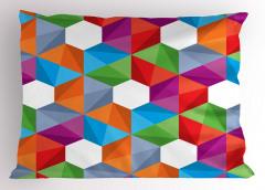 Geometrik Desenli Yastık Kılıfı Modern Tasarım