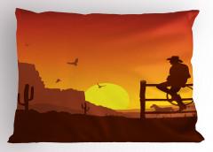 Yalnız Kovboy Yastık Kılıfı Kovboy