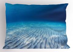 Su Altında Yaşam Yastık Kılıfı Sualtı Yaşam Temalı Okyanus