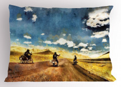 Motosiklet ve Yol Yastık Kılıfı Macera