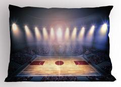 Basketbol Işığı Yastık Kılıfı Arena Işıklar