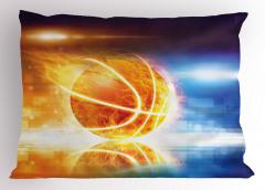Alev Alan Basket Topu Yastık Kılıfı Alev Alan Basket Topu