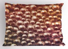 İnci Desenli Yastık Kılıfı Işıltılı İnci Desenli Trend