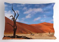 Namibya Çöl Manzarası Yastık Kılıfı Çöl Manzaralı Namibya