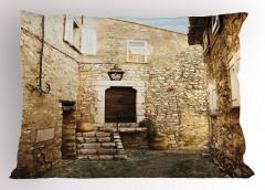 Eski Taş Evler Yastık Kılıfı Eski Taş Evler Kırsal