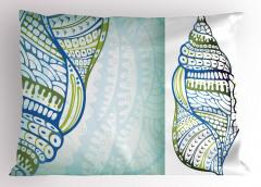 Şık Deniz Kabuklu Yastık Kılıfı Şık Tasarım Trend