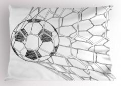 Top Ağlarda Yastık Kılıfı Kale Futbol Topu
