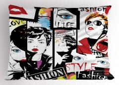 Moda Tutkunları Yastık Kılıfı Şık Tasarım Trend