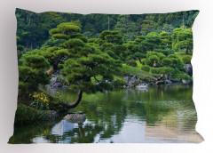 Doğada Huzurlu Nehir Yastık Kılıfı Doğada Huzur Temalı