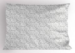 Retro Gül Desenli Yastık Kılıfı Retro Stil Gül Desenleri Bahar