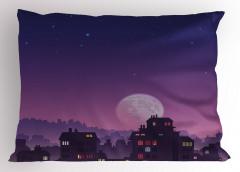 Ay Işığı Yastık Kılıfı Ay Işığı Romantik