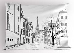 Paris Sokakları Yastık Kılıfı Paris Sokakları