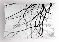 Sonbaharda Ağaç Dalları Yastık Kılıfı Sonbaharda Ağaç Dalları