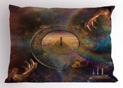 Evrende Yolculuk Yastık Kılıfı Evrende Yolculuk Uzay
