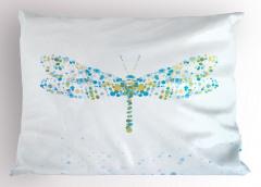 Yusufçuk Desenli Modern Yastık Kılıfı Modern Sanat Tasarım
