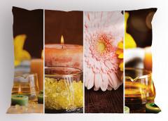 Aroma Terapi Yastık Kılıfı Aromatik Terapi Pembe Çiçek