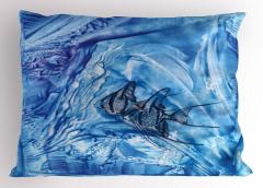 Balık Şık Tasarım Yastık Kılıfı Balık Desenleri Modern Sanat Trend