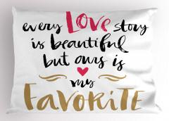Aşk Temalı Yastık Kılıfı Sevgililer Günü İçin Trend