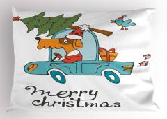 Mutlu Noeller Temalı Yastık Kılıfı Çocuk İçin Köpek