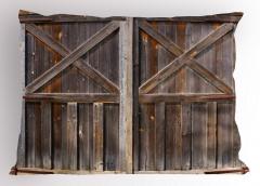 Nostaljik Ahşap Pencere Yastık Kılıfı Dekoratif